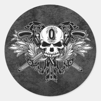 O'Kane Logo Stickers (Round)