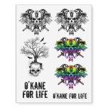 O'Kane & Rider Logo Tattoos