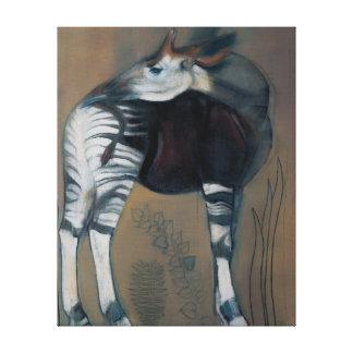 Okapi 2005 canvas print