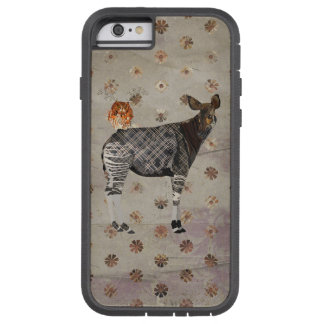 OKAPI & ANTLER OWL TOUGH XTREME iPhone 6 CASE