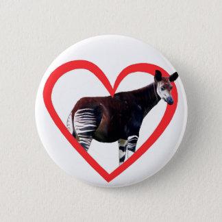 Okapi Heart Button