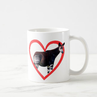 Okapi Heart Coffee Mug