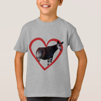 Okapi Heart T-Shirt