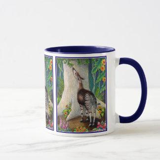 Okapi in the Rainforest Mug