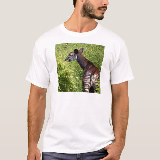 Okapi in the vegetation T-Shirt