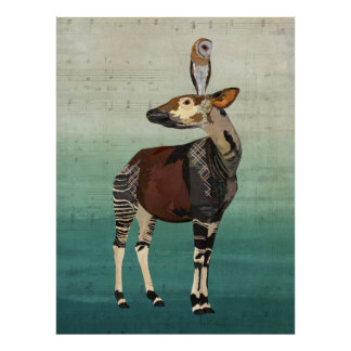 OKAPI & OWL Art Poster
