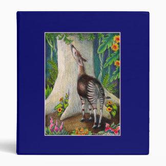 """Okapi """"reserva carpeta de la selva tropical"""""""