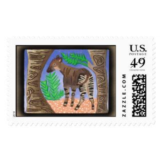 okapi stamp