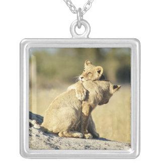 Okavango Delta, Botswana 2 Silver Plated Necklace