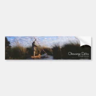 Okavango Delta Bumper Sticker