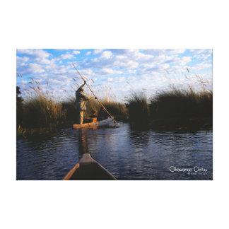 Okavango Delta Gallery Wrap Canvas