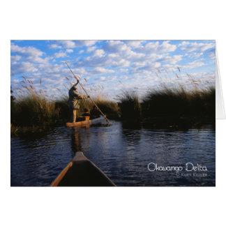 Okavango Delta Card