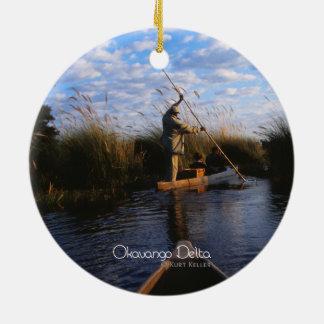 Okavango Delta Ceramic Ornament