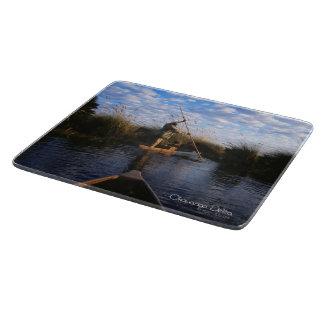 Okavango Delta Cutting Board