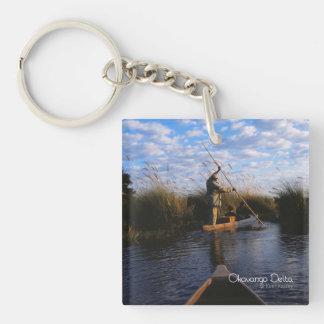 Okavango Delta Acrylic Keychain