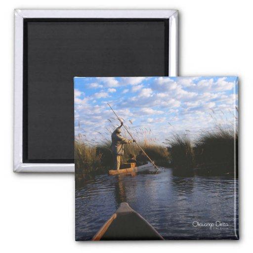 Okavango Delta Photo Magnet