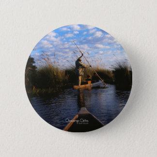 Okavango Delta Pinback Button