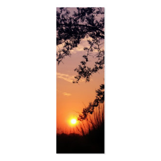 """Okavango Delta sunrise"" bookmark Business Card"
