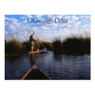 Okavango Delta Travel Postcard