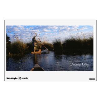 Okavango Delta Wall Decal