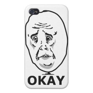 Okay Guy Meme iPhone 4/4S Cover
