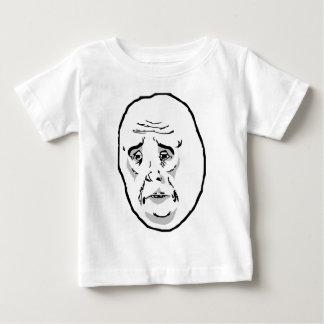 Okay Guy Rage Face Meme Baby T-Shirt