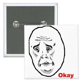 Okay Guy Rage Face Meme Button