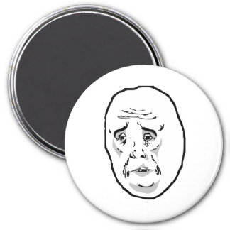 Okay Guy Rage Face Meme Magnet