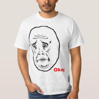 Okay Guy Rage Face Meme T-Shirt