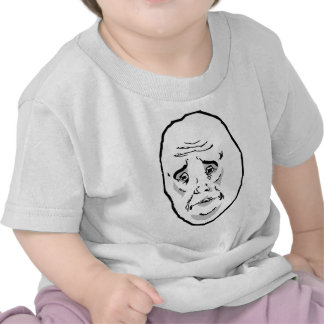 Okay Guy Rage Face Meme Tshirts