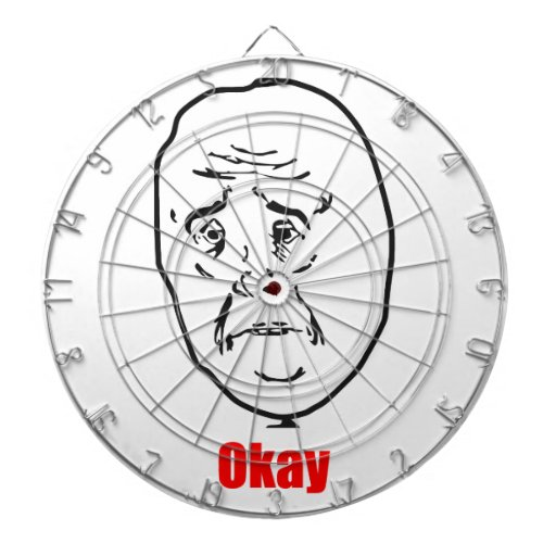 Okay - Meme Dart Board
