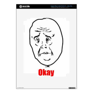 Okay - Meme iPad 3 Decal