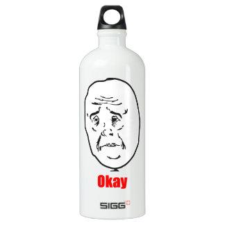 Okay - Meme Water Bottle