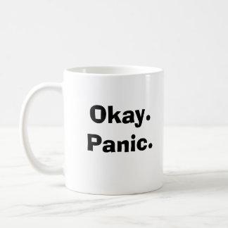 Okay.Panic. Taza De Café