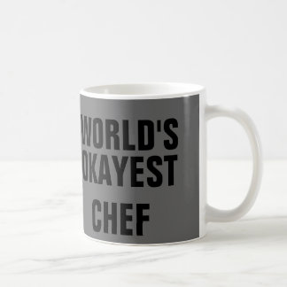 Okayest Chef Coffee Mug