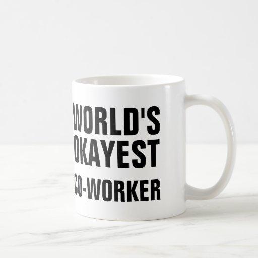 Okayest Co-Worker Classic White Coffee Mug T-Shirt, Hoodie, Sweatshirt
