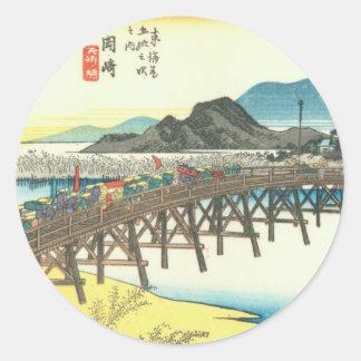 Okazaki Classic Round Sticker