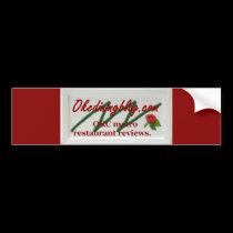 OKCdiningblog.com bumper sticker
