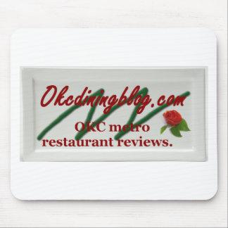 OKCdiningblog.com design 1 Mouse Pad