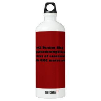 OKCdiningblog.com design 2 Aluminum Water Bottle