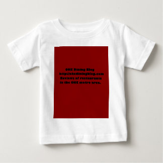 OKCdiningblog.com design 2 Baby T-Shirt
