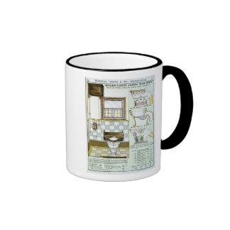 Okeanos Closets from a catalogue of sanitary wares Ringer Coffee Mug