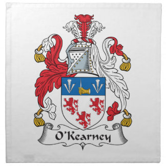 O'Kearney Family Crest Napkin
