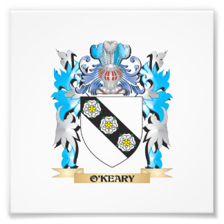 O'Keary Coat of Arms - Family Crest Photograph