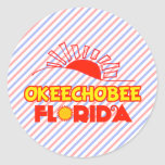 Okeechobee, Florida Classic Round Sticker