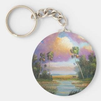 Okeechobee Florida Keychain