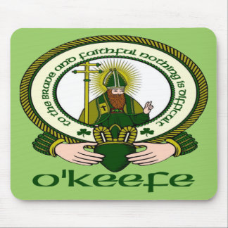 O'Keefe Clan Motto Mouse Pad