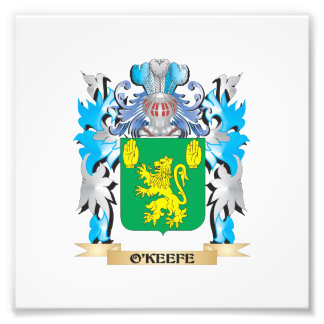 O'Keefe Coat of Arms - Family Crest Photograph