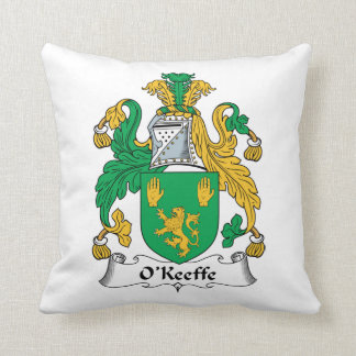 O'Keefe Family Crest Pillow