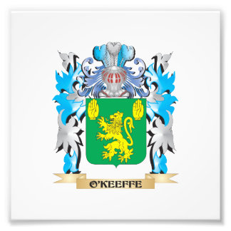 O'Keeffe Coat of Arms - Family Crest Photograph